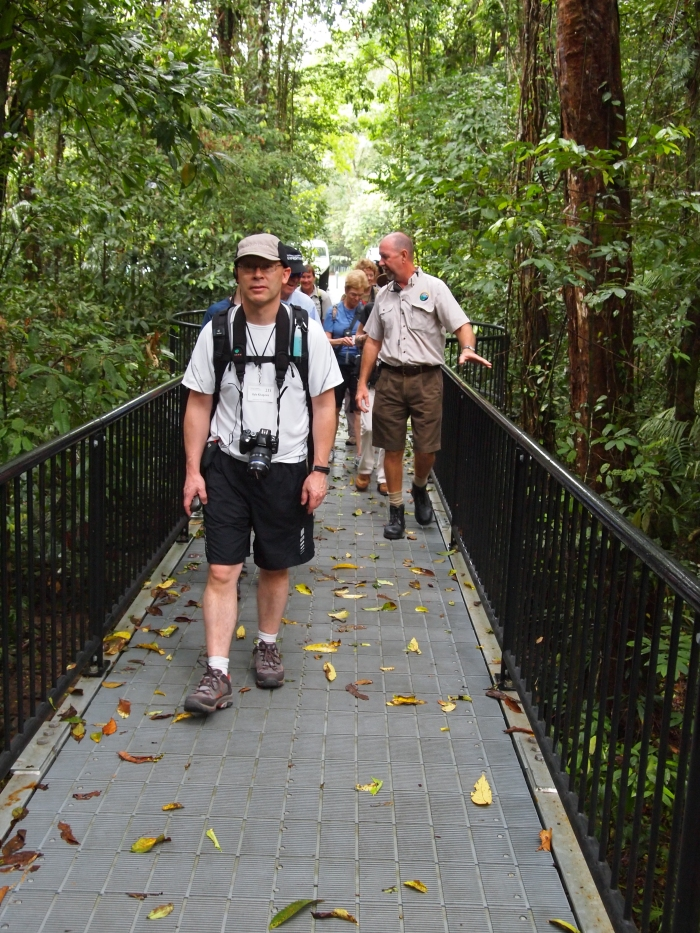 Mr. GeoK in the Daintree Rainforest, Australia