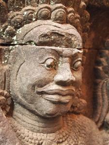 Near Bayon Temple, Siem Reap, Cambodia