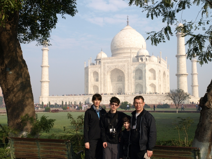 GeoKs at Taj Mahal