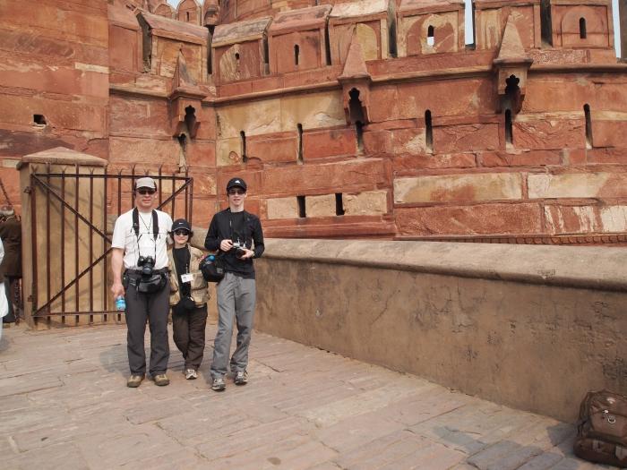 GeoKs guys at Fort Agra