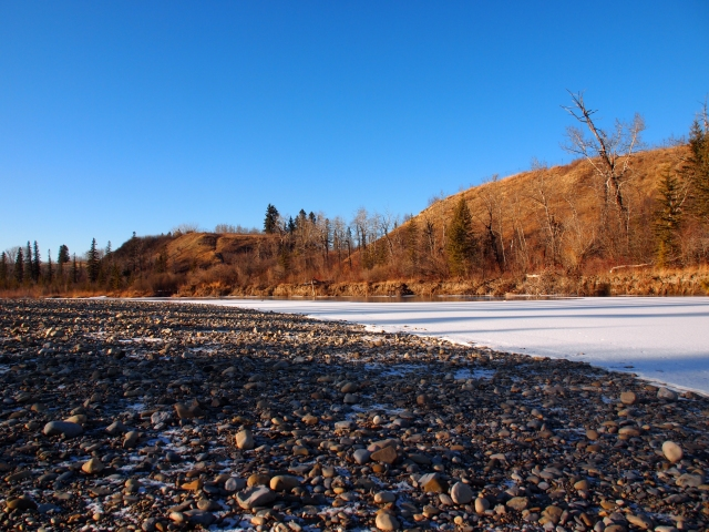 Elbow River Bed