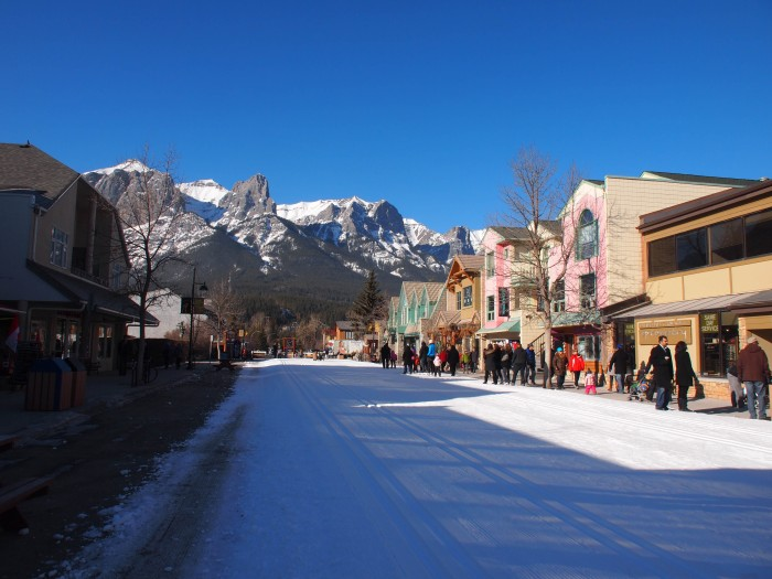 Canmore main street