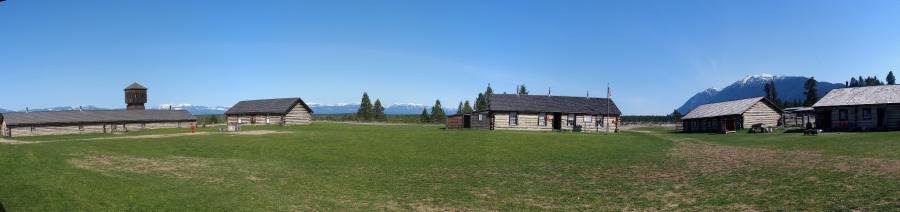 Fort Steele NWMP Barracks