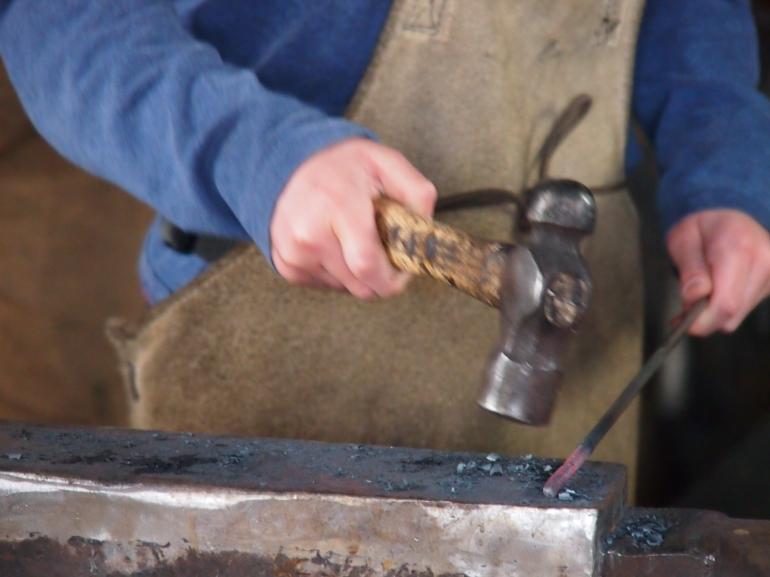 Blacksmith-in-training