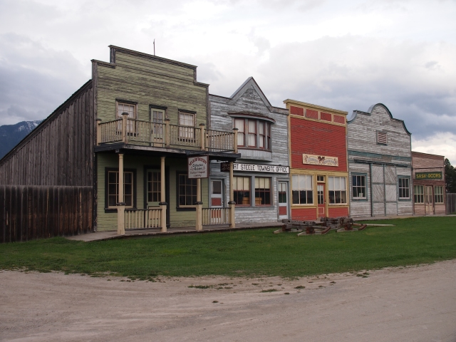 Downtown Fort Steele
