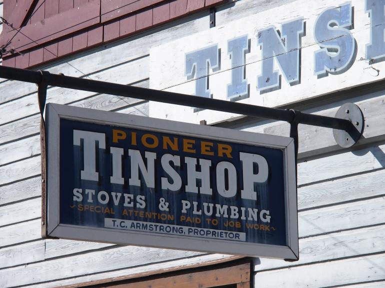 Tinsmith shop