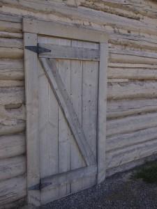 Barracks door