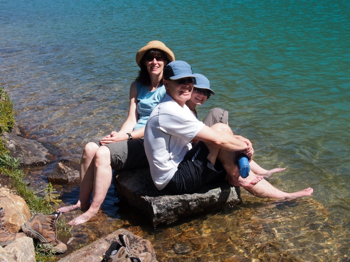 Foot pain management at Lake Annette
