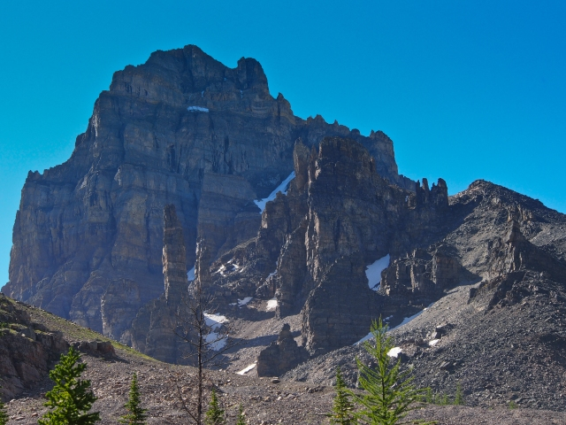 The sentinels at Sentinel Pass