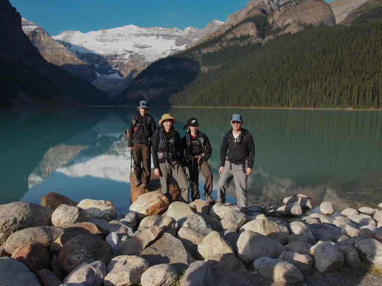 GeoKs at Lake Louise