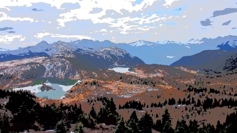 Sunshine Meadows Lake Loop