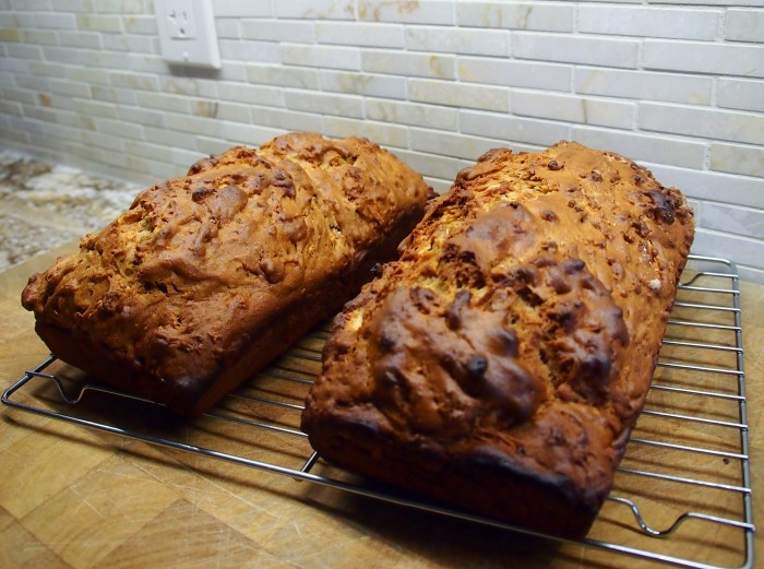 Apple spice loaf