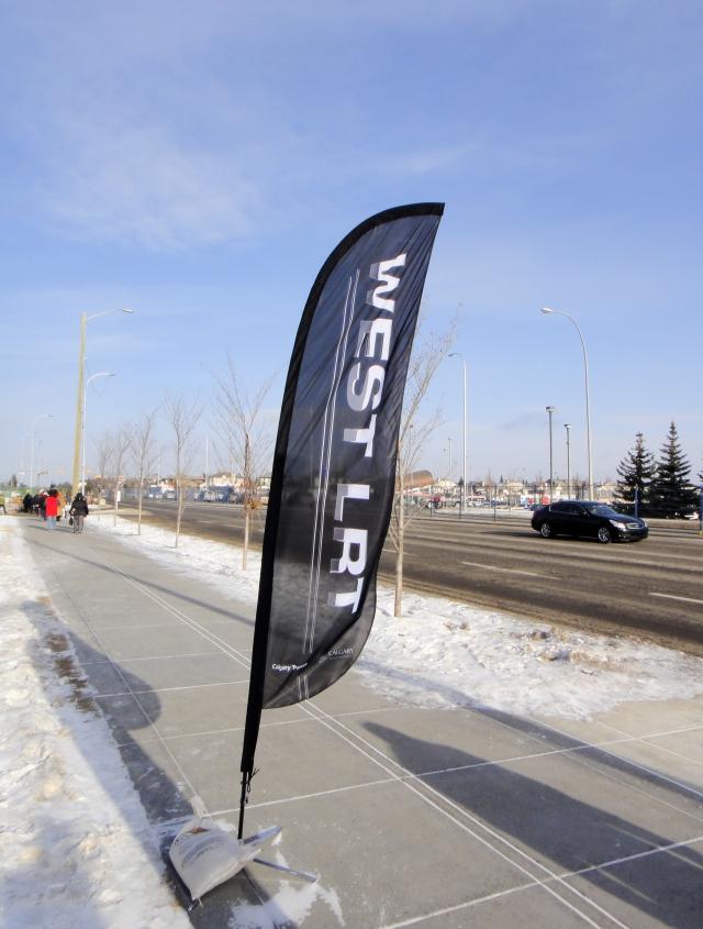 West LRT banner