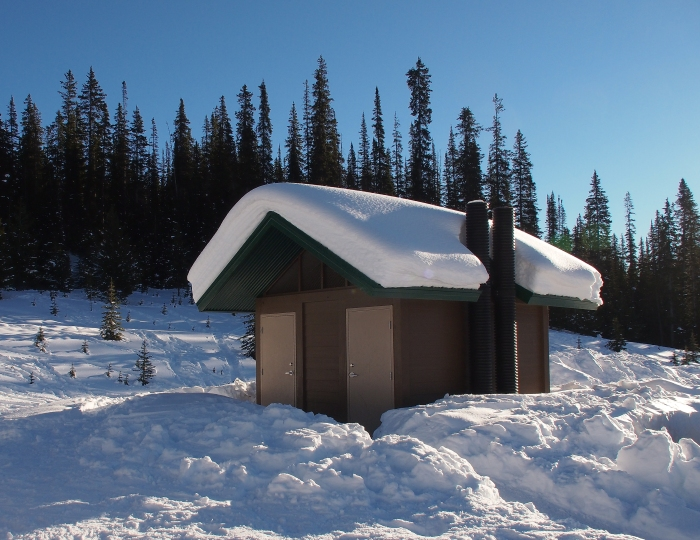 Trailhead facilities