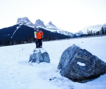 Caching with cousins in Canmore