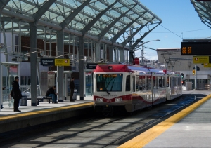 Calgary West LRT - Kerby Station