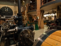 Another view of the tandem compound mill engine