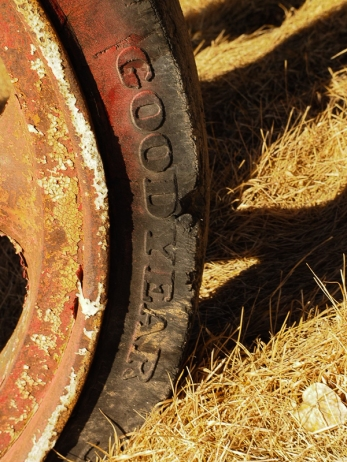 Another rubber tire