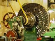 Shepherd Hill wheel lathe (detail)