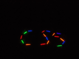 CSS (Calgary Science School) in lights!