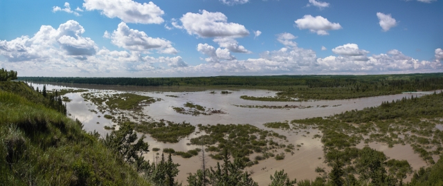 Elbow River Delta - Saturday, June 22