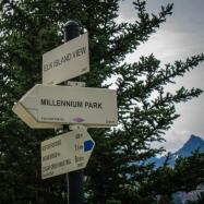 Millenium Park Signpost