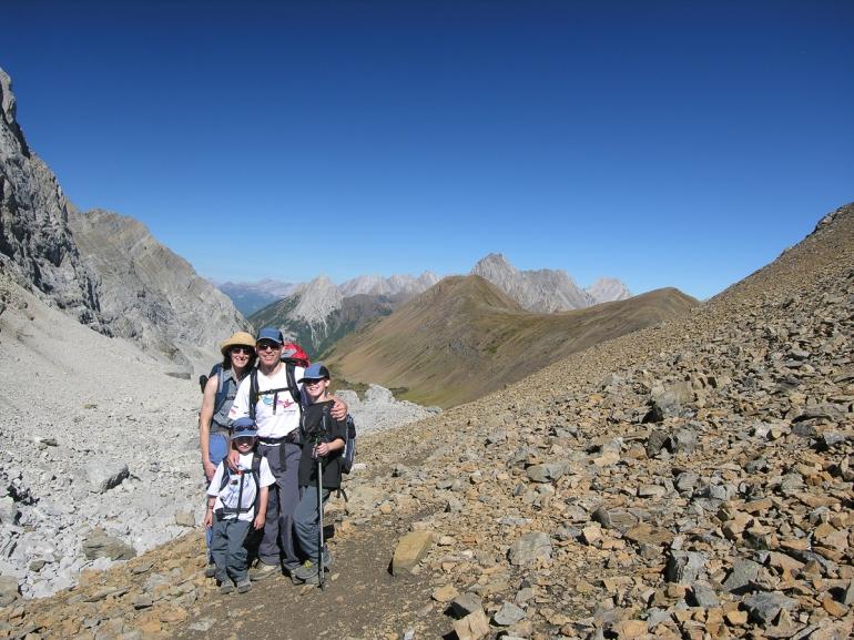 GeoKs at Little Highwood Pass, September 2006