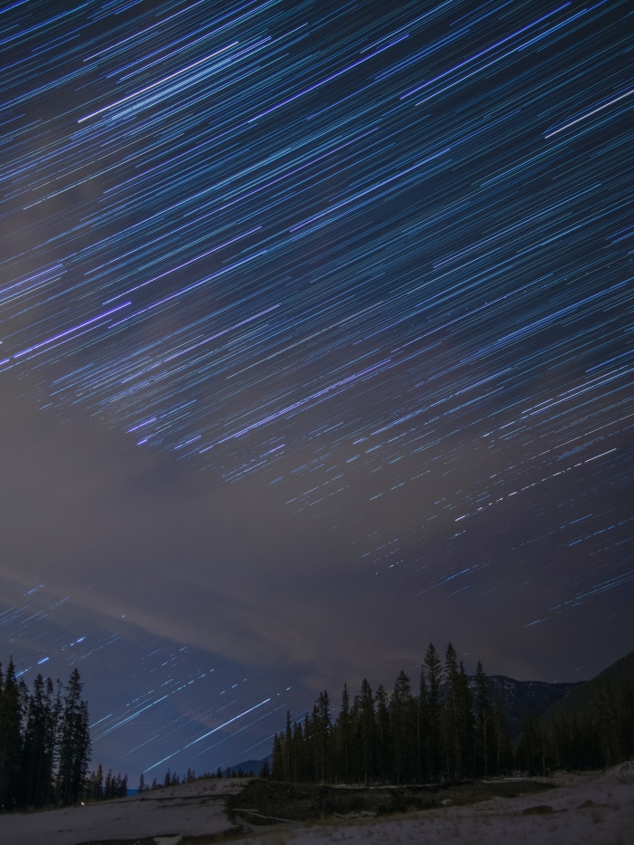 Canmore-star-trail