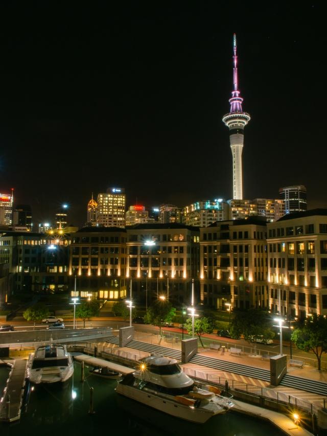 Auckland-Skyline-Night