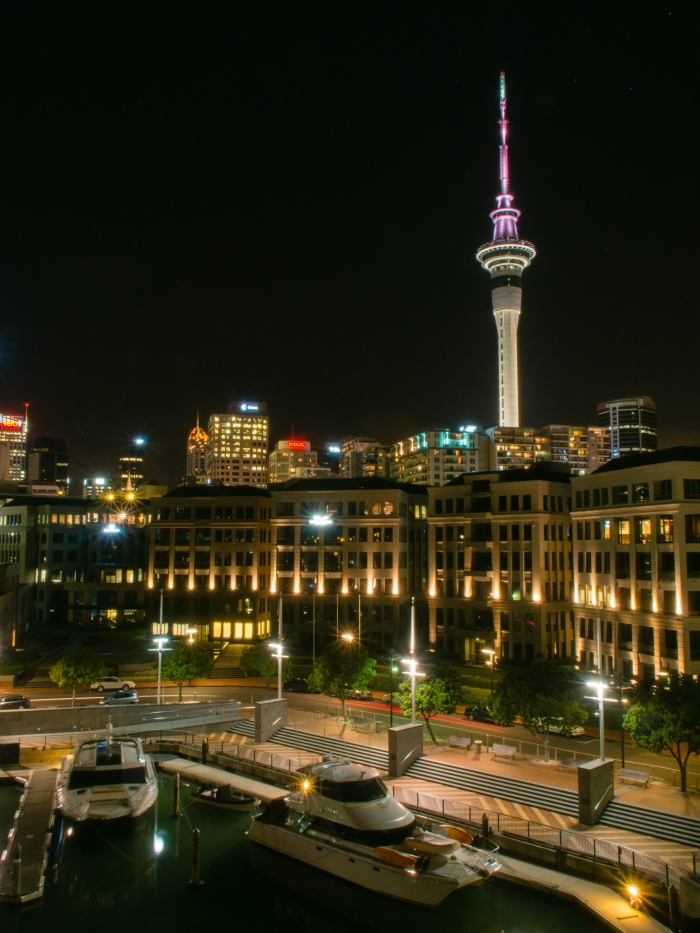 Auckland-Skyline-Night