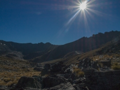 K took this photo when we stopped at South Wye Saddle. It really conveys how strong the sun's UV is when you're in New Zealand.