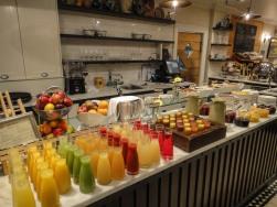 Breakfast buffet at Sofitel in Queenstown