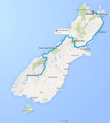 NZ South Island