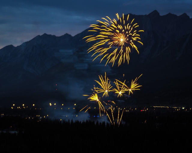 Canmore-Canada-Day-Fireworks