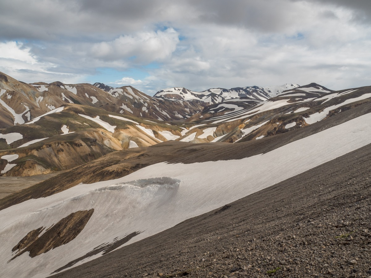 Hiking Iceland: Bláhnjúkur