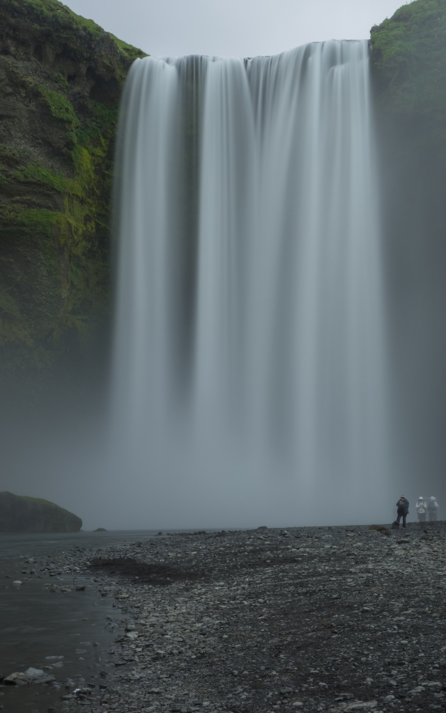 Fimmvörðuháls-waterfall