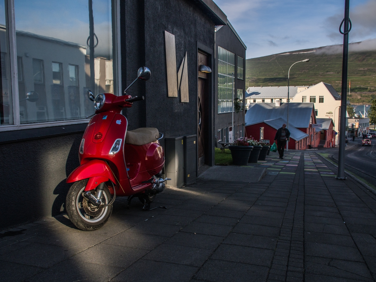 Out and About in Akureyri, Iceland