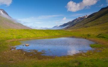 Iceland-blue-sky