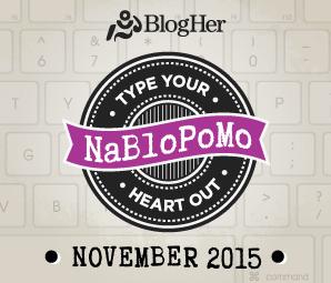 NaBloPoMo2015