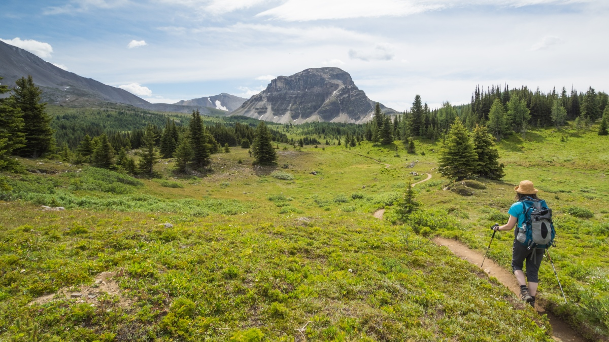 Hiking Banff National Park - Sunshine Village to Citadel Pass