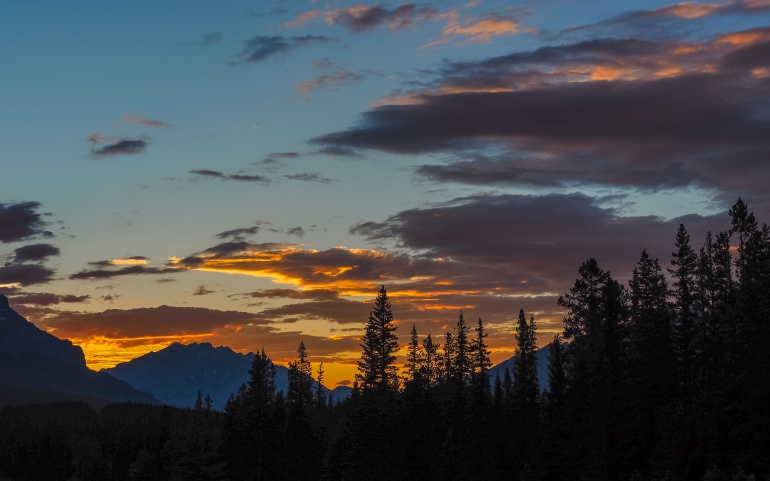 Canmore-sunset