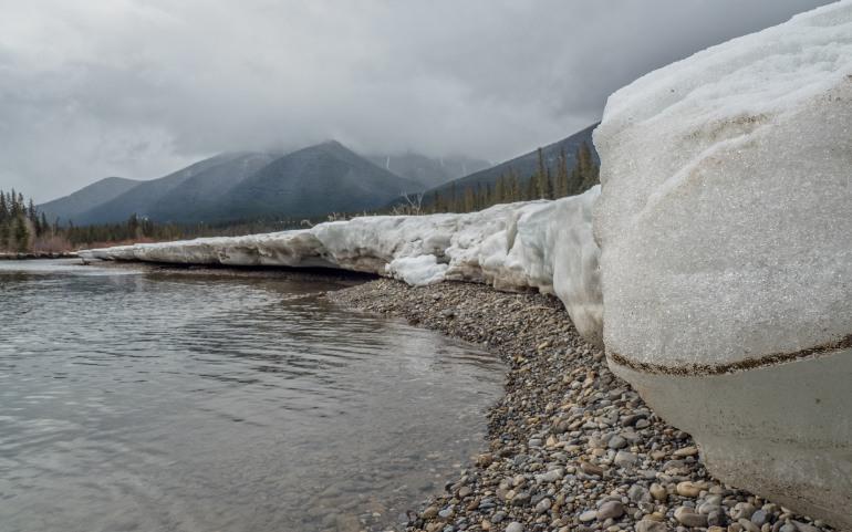 River-ice