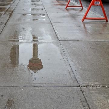 Calgary-tower-reflection