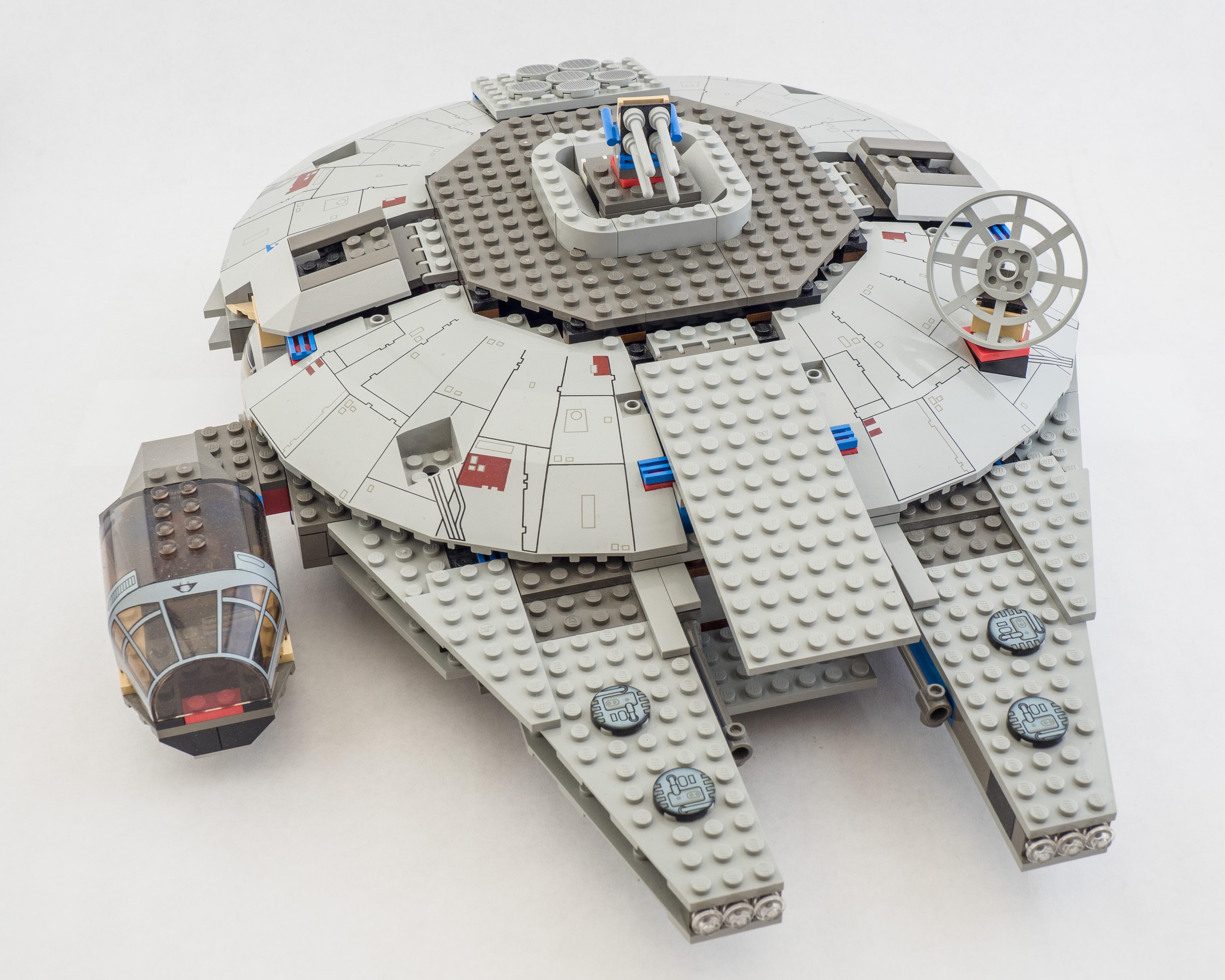 lego millennium falcon 7190