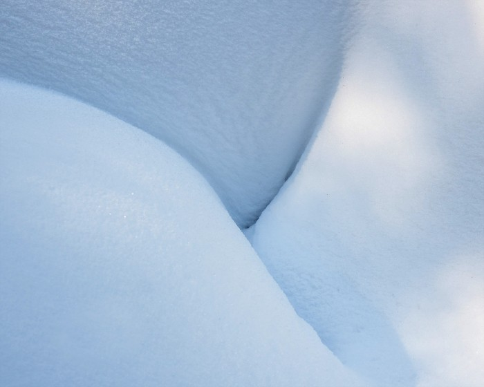 snow-abstract