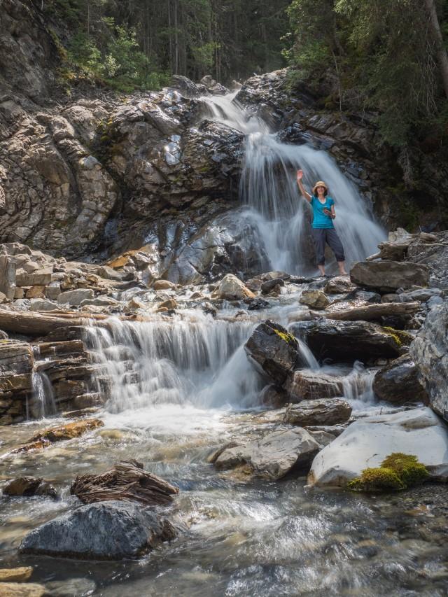 creek-wading