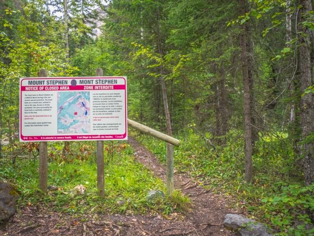 mount-stephen-trail-requires-permit