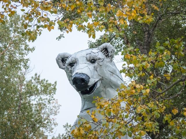 polar-bear-sculpture