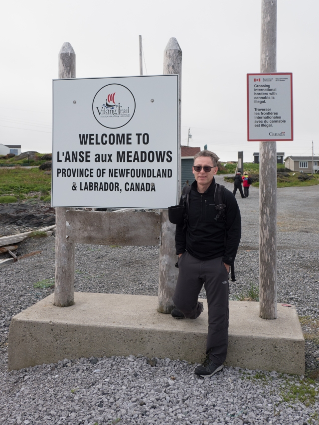 welcome-to-l'anse-aux-meadows-sign