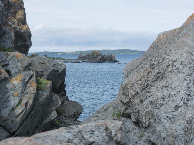 view-between-rocks